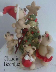 Resultado de imagen para christmas polymer clay