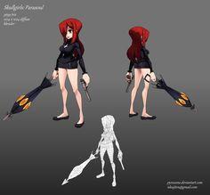 Skullgirls: Parasoul by Pyroxene on deviantART