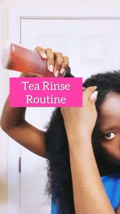 🛑 STOP Hair Shedding With a Tea Rinse