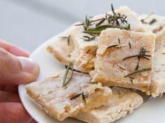 Rezept: fettarmes Knabbergebäck mit mediterranen Kräutern