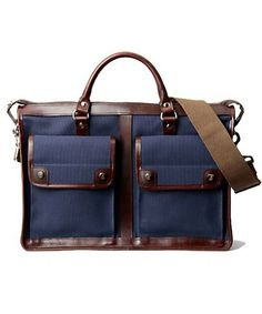Waste(twice) Porter Two-Way Briefcase