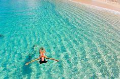 alone, girl, ocean, sea - inspiring picture on Favim.com
