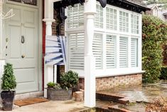 The UK's best & affordable shutters. Our handcrafted plantation shutters are made to measure, stylish & come in custom colours for your windows. Shutters With Curtains, Pallet Shutters, Cafe Style Shutters, Kitchen Shutters, Wooden Window Shutters, Bedroom Shutters, Interior Shutters, Baby Room Neutral, Stylus
