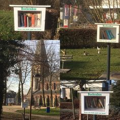 4 boekenboxen van de 18 momenteel in Liedekerke (december 2016)