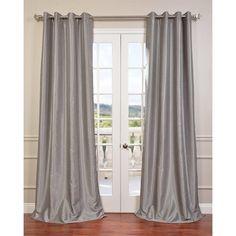 Vintage Dupioni Single Curtain Panel