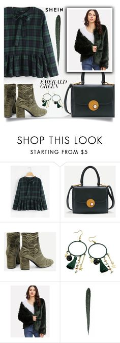 """""""Emerald City: Pops of Green"""" by samra-bv ❤ liked on Polyvore featuring Bobbi Brown Cosmetics"""