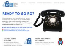Latest trend: Rotary Phone Optimization
