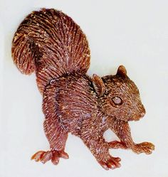 Baby Squirrel       New  Design  by McCloud9Jewelry on Etsy