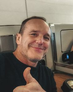 Clark Gregg, Chloe Bennet, Phil Coulson, Greggs, Team S, Fictional Characters, Instagram, Fantasy Characters