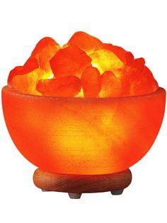 Healing Embers Salt Lamp