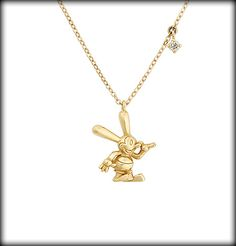 Oswald the Lucky Rabbit Necklace
