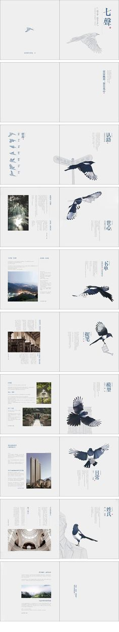 天琴山秋季形象册 — 七声 #editorial #spread #layout