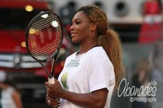 <3 Rena! ...  @Serena Williams Charity Day @MutuaMadridOpen 2014 via @iabanadesm Photography