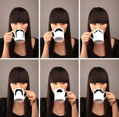 tazas bigotes