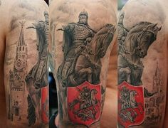 Slavic inspired tattoo designs - It's an ancient tradition that has been practiced by most of the human populations on Earth. We used to mark ourselves for all kind of reasons, some where personal, some where to show the status inside the society or where you belong, and on end some were just of art...
