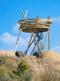 Observatoire Vogelnest Silbersee, Hochheim, Allemagne, 2001