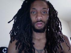 Wavy locs on a man Sexy Men, Style Me, Natural Hair Styles, Dreadlocks, Beauty, Hairstyles, Haircuts, Hairdos, Hair Makeup