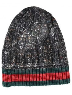 37ac6abc6b3 Shop for Web Stripe Beanie by Gucci at ShopStyle.