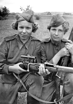 Best Soviet Female Snipers Of WWII