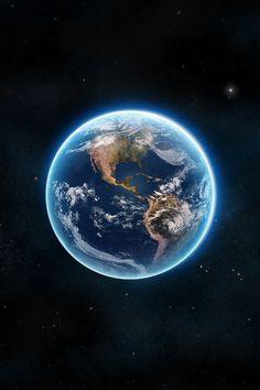 Old school iOS wallpaper - iOS Earth for Retina iPhone 5/5\u2026 | Flickr