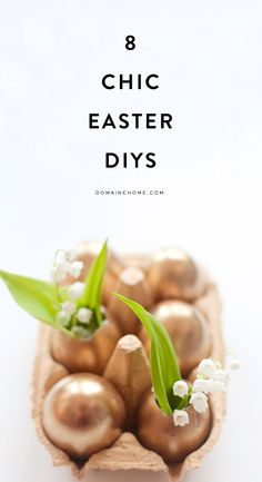 The chicest DIY Easter décor