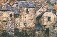 Pueblo abandonado de Soria, España