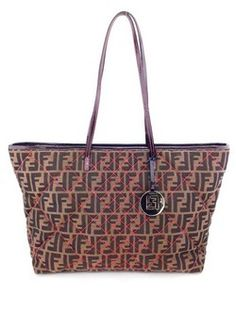 #fendi #brown #canvas #signature #tote #purse #bagoftheday #bagporn #fashion