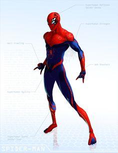 Spider-Man - OG Marvel remix DB by *ogi-g on deviantART