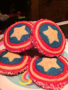 Capitán América's cookies