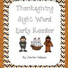 This is a great easy reader for your beginning readers to make, color, and practice along with learning about Thanksgiving and Long Ago. The reader...