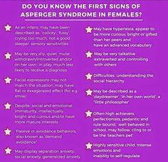 mild aspergers symptoms in male adults