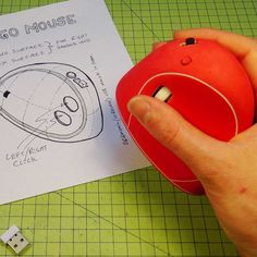 Picture of How to make an Ergonomic USB Mouse (Ergo Mouse) - made from Styrofoam Repetitive Strain Injury, Sugru, Hand Wrist, Take Apart, Cool Inventions, Ergonomic Mouse, Design Model, Computer Mouse, Craft Projects