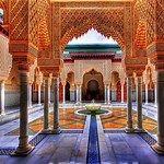 (1) royal mansour bathrooms - Bing images Islamic Architecture, Futuristic Architecture, Visit Morocco, Moorish, Moroccan Style, Palace, Taj Mahal, Castle, Building