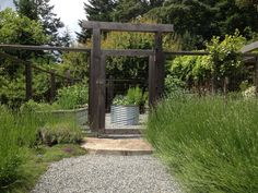 Vegetable garden entry
