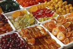 Como hacer Fruta abrillantada 3 Gourmet Recipes, Mexican Food Recipes, Sweet Recipes, Vegan Recipes, Cooking Recipes, Ethnic Recipes, Fruit Confit, Jerky Recipes, Good Food