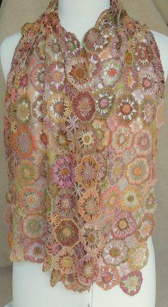 Genitiane Scarf - Sophie Digard crochet