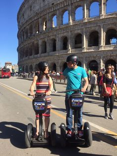 Rome by Segway looks all the way more beautiful and amazing as you're able to explore the inner corners of the city.