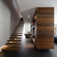 House in Estoril, Portugal  Wow...check out those stairs....love the clean-minimalist design
