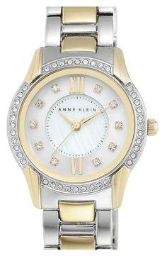 Anne Klein Round Bracelet Watch, 28mm