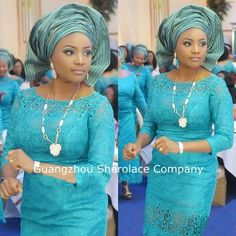 French Lace Aso Ebi Styles for Wedding and Owambe Party