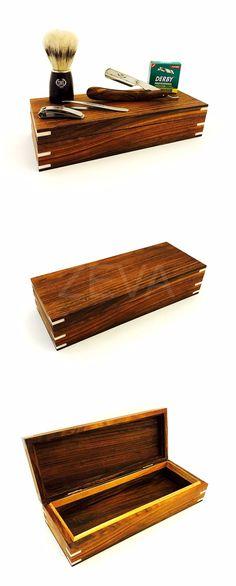 Straight Razors: Mens Barber Luxury Wooden Hand Straight Razor, 100 Derby Blades, Brush In Box -> BUY IT NOW ONLY: $84.99 on eBay!