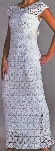 Vestido A Crochet Mmu