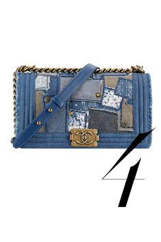 Chanel bag, $4,300, 800-550 0005.   - HarpersBAZAAR.com