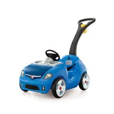 Amazon.com : Step2 Whisper Ride II, Blue : Push And Pull Baby Toys : Toys & Games