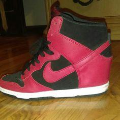 Nike wedge New never worn Nike Shoes Sneakers
