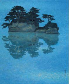Kaii Higashiyama (Japanese, 1908-1999): Clear Waters, 1968.