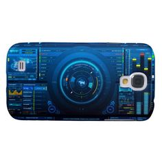 Digital Hud Display Galaxy S4 Cases