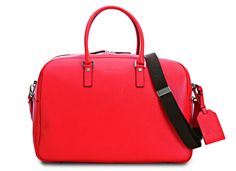 #SalvatoreFerragamo #Mensfashion SS2013 #Bags #accessories #red