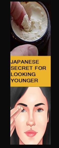 This Japanese secret to look younger will blow your mind This natural cream is popularly knwn as the elixir of youth and has been used for ages by a number of people. oIt is a Japanese recipe that gives results in just a week of using it. Beauty Care, Beauty Skin, Hair Beauty, Beauty Box, Beauty Makeup, Makeup Tips, Makeup Products, Skin Products, Beauty Products