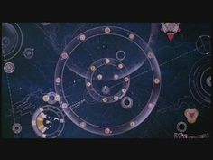 """Time portal map used in the 1981 Terry Gilliam movie, Time Bandits.  """"You see, to be quite frank Kevin, the fabric of the universe is far from perfect. It was a bit of a botch job you see. We only had seven days to make it. And that's where this comes in. This is the only map of all the holes. Well why repair them? Why not use 'em to get stinking rich?""""  - Randall, self-appointed leader of the Time Bandits"""